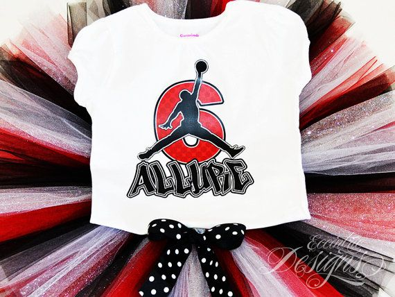 Air Jordan Inspired T-shirt Transfer - $6.25 Tutu, Tshirt, Shirt, Transfer, Iron-on, Iron-on Transfer, Michael, Jordan, Air, Chicago Bulls, Red, Black, White, Baby Shower, Birthday, Party, Basketball, 23, NBA, Slam Dunk, Hoop, Fresh, Kicks, JumpMan