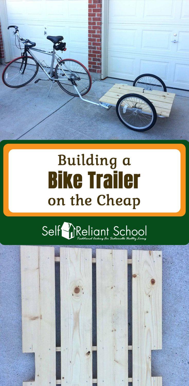 Posted By Survivaloftheprepped Com Bike Trailer