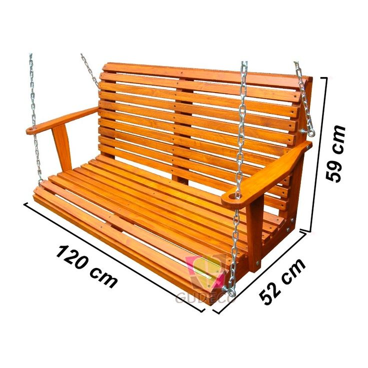 M s de 1000 ideas sobre columpio de madera en pinterest - Columpio de madera ...
