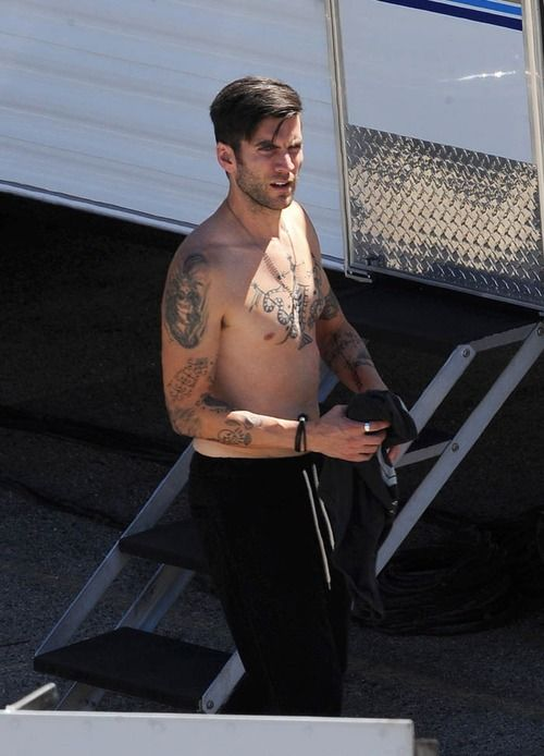 Wes Bentley on set of his upcoming movie Broken Vows