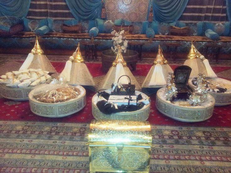 Traditional Wedding Gifts From Groom To Bride: #Morocco Wediing Dfou3: Presents From The Froom And His