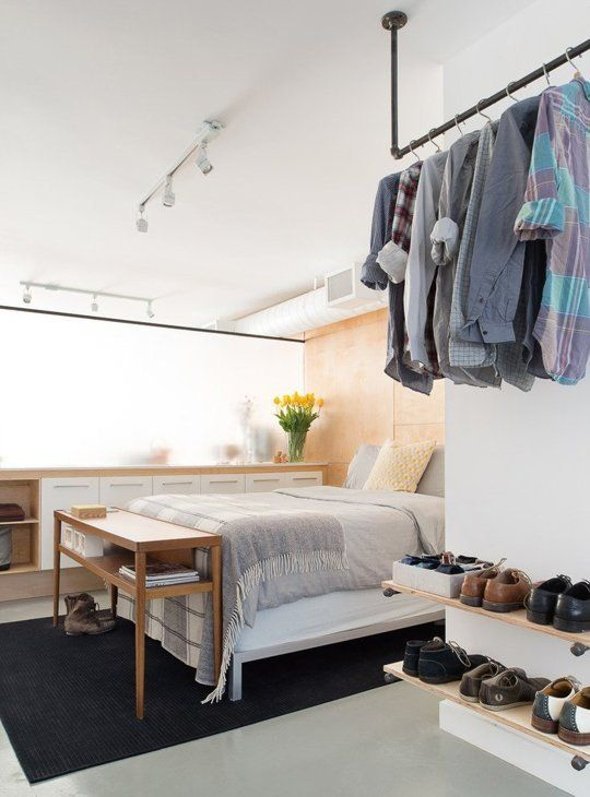 How to Cope When You Have a Huge Wardrobe but a Tiny Closet