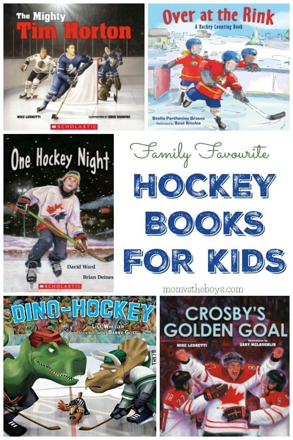 31 Hockey Books For Kids To Read This Winter With Images Books For Boys Hockey Kids Activities For Boys