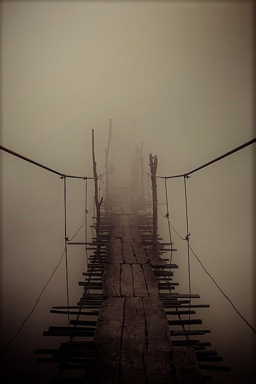 For all the bridges we may cross ... back to some evocative abstract writing in the latest blog.  http://gr8word.com/index.php/entry/a-rickety-bridge