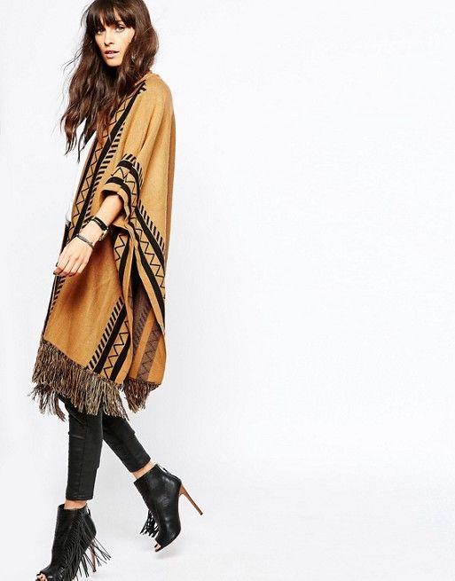 Discover Fashion Online Asos  vero moda tribal poncho