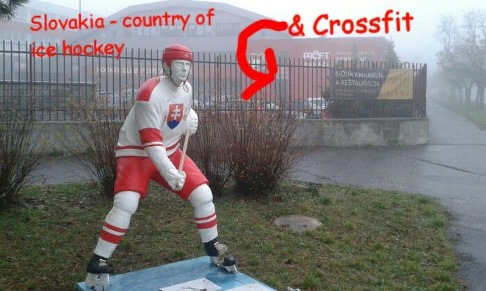 Country of Ice Hockey & Crossfit growing