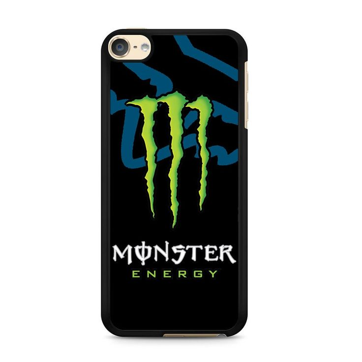 Fox Racing Monster Logo For Ipod Touch 6 Case