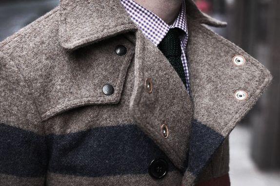 Men Clothing, Men Coat, Men Style, Jackets, Men Fashion, Stripes, Peacoats, Winter Coats, Men Apparel