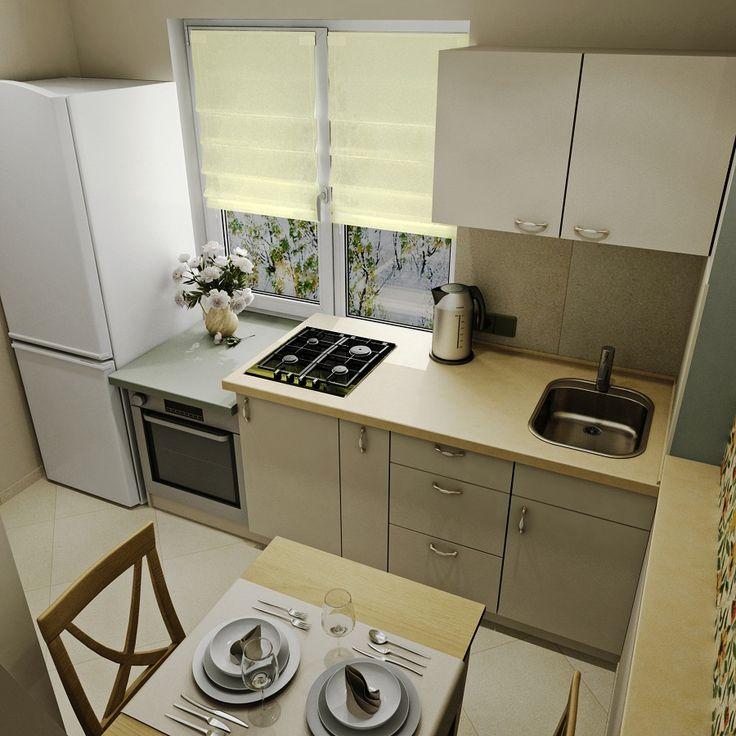 перепланировка маленькой кухни (6м2