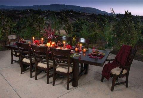 vineyard outdoor dining