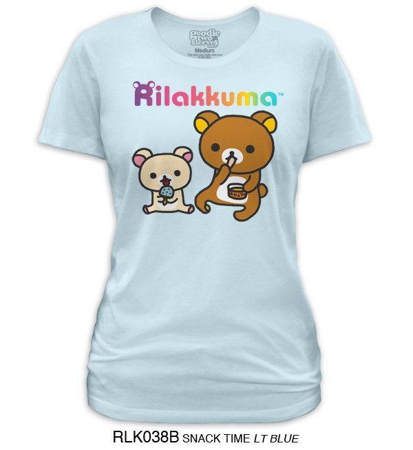 Crunchyroll - Store - Rilakkuma Snack Time Junior T-Shirt