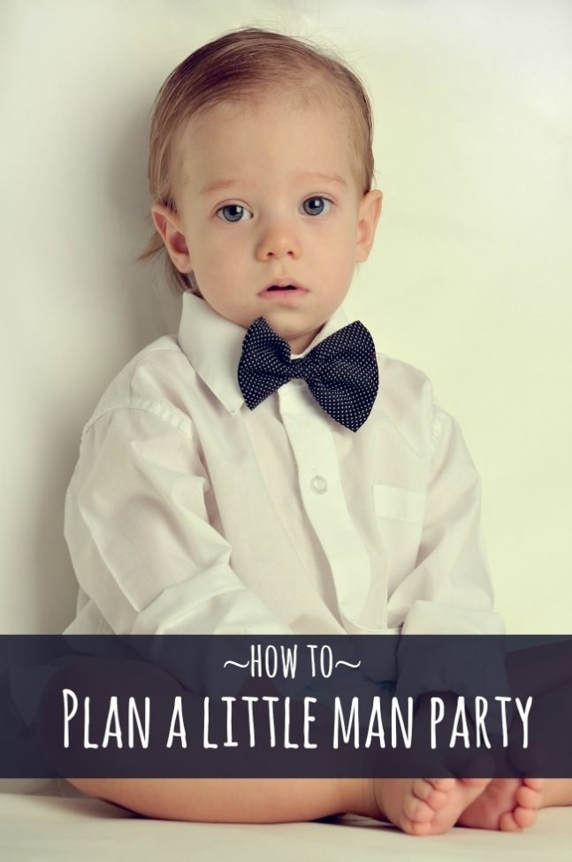 How to Plan a Little Man Party www.spaceshipsandlaserbeams.com