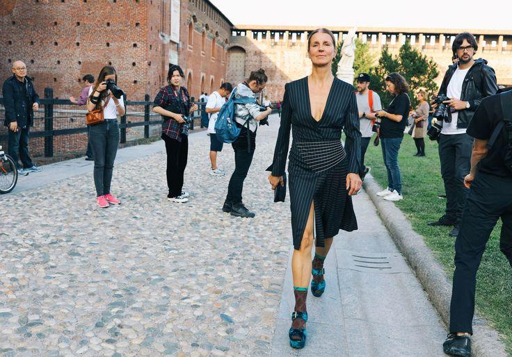 Sept 2017_MFW_ss 18_Karla Otto in Prada shoes