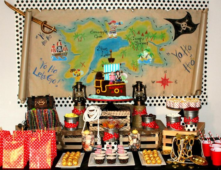 mesa dulce pirata - Buscar con Google
