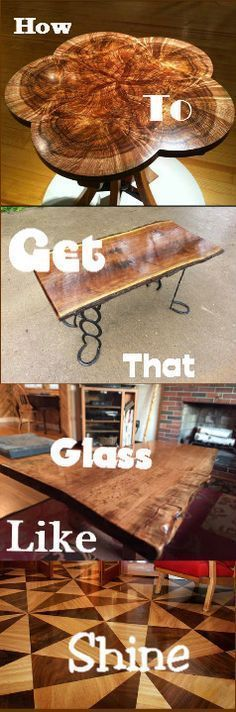 Watch The Video To Learn How To Get That Glass Like Shine On All Your Woodworking Projects : http://vid.staged.com/2H4s