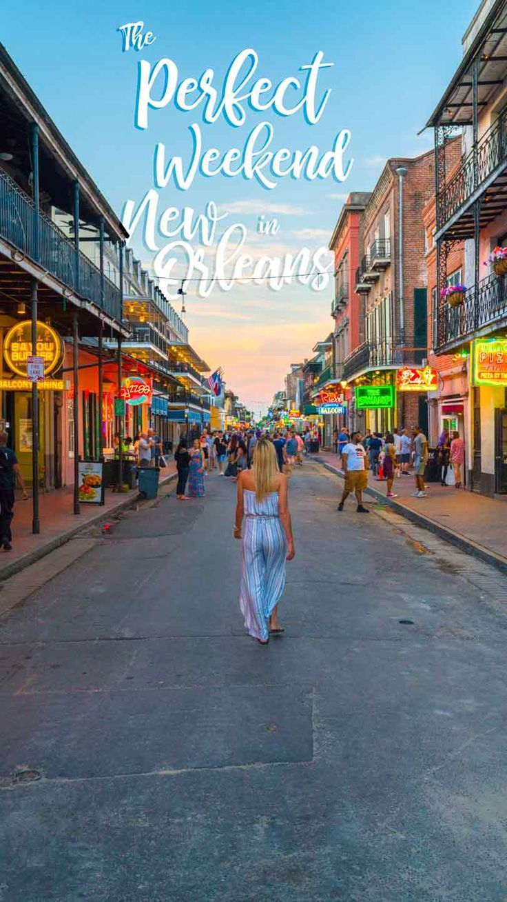how to spend the perfect 3 day weekend in new orleans favorite rh pinterest com