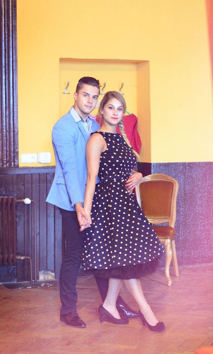 Retro šaty, Pepa a Nina