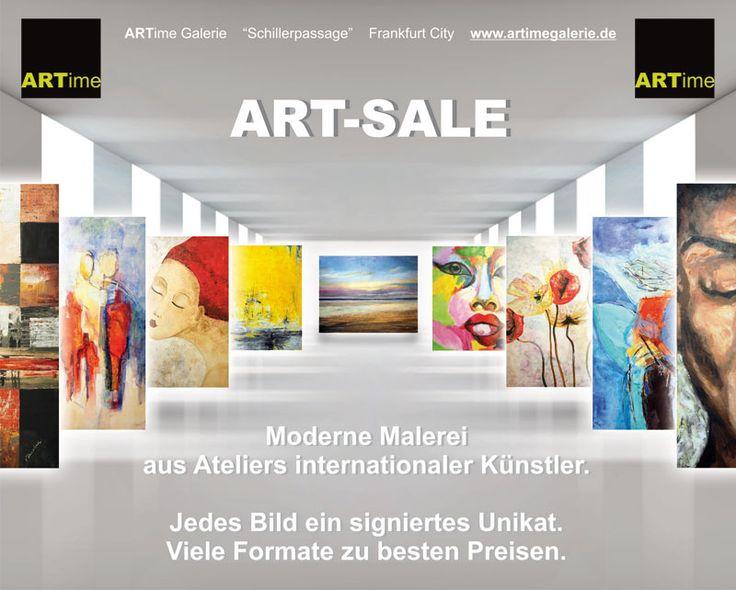 Leinwand Moderne Abstrakte Kunst Malerei Bilder #ARTime #Galerie