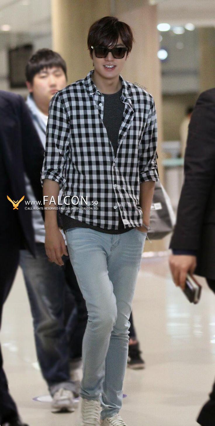 Lee Min Ho @ airport fashion