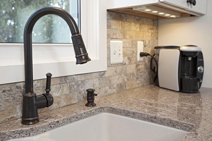 Cambria Color Castell Granite Composite Soft White Under