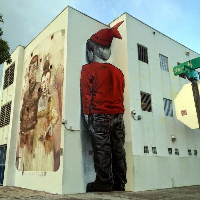 Pixel Pancho for Art Basel Miami, and MTO on right