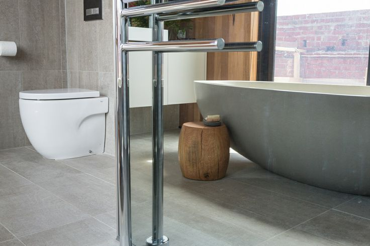 This Stylish Bathroom Appeared On The Block Fans Vs Faves It Features The Horm Flint Tile From