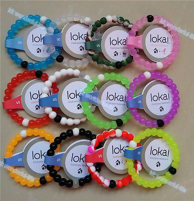 12 Color Lokai Bracelet Mud from Dead Sea water from MT Everest Beads S M L XL