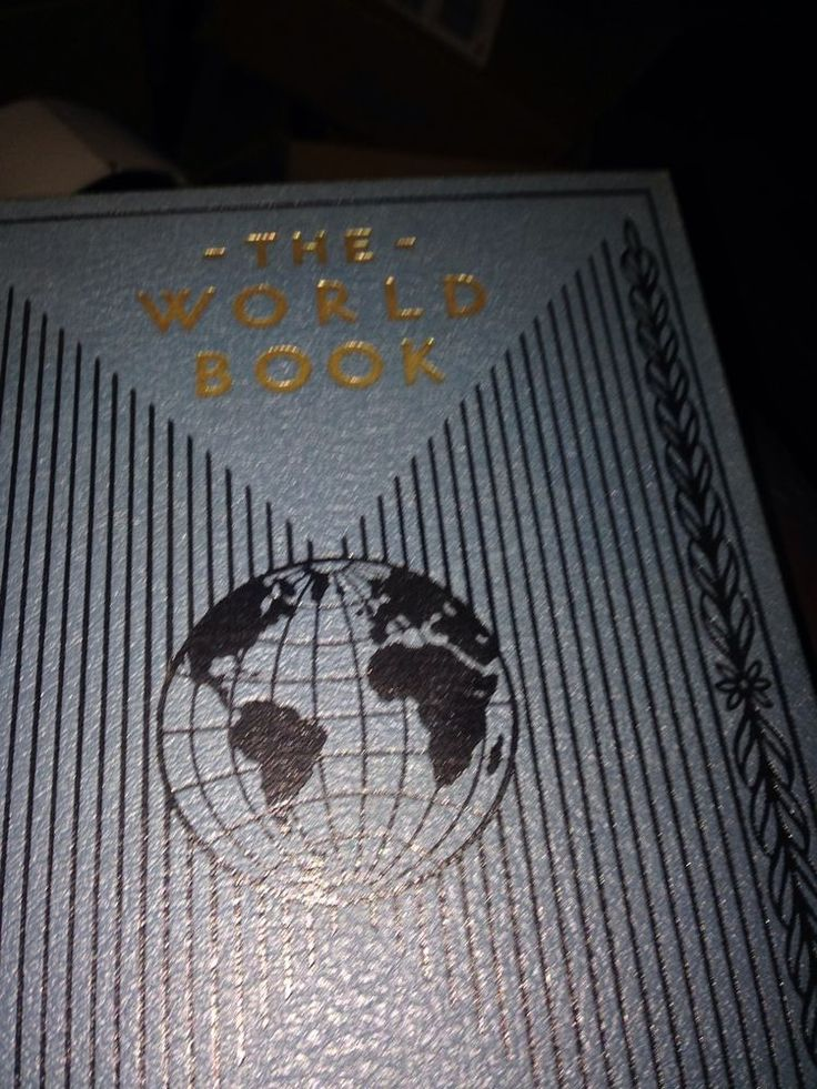 Antique Vintage World Book Encyclopedia 19 Vol 1934? Extras Reference Hardcover