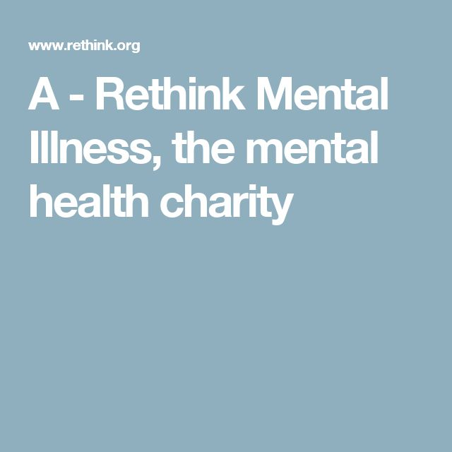 mental health charities