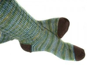 """Warming """"Magic"""" Socks. An effective, simple therapy to use at the onset of a cold, flu or fever."""