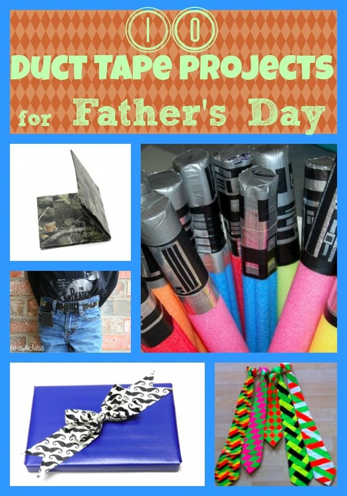 10 Duct Tape Crafts For Father S Day Today S Craft And