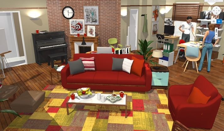 How i met your mother apartment in 3d himym in 3d ted - Home by me ...