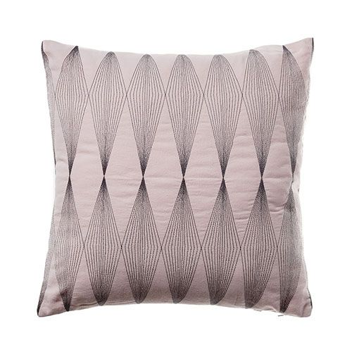 Prism Embroidered Cushion Pink