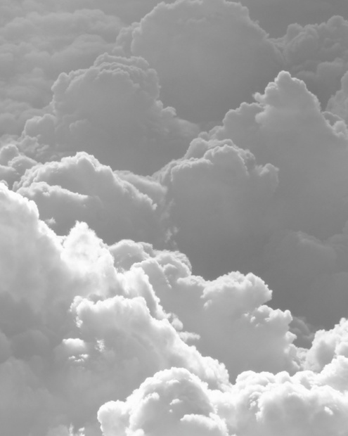 White clouds = gorgeous pic