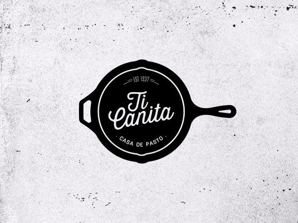 Logo Collection by João Henriques, via Behance - Ti Canita, Casa de Pasto