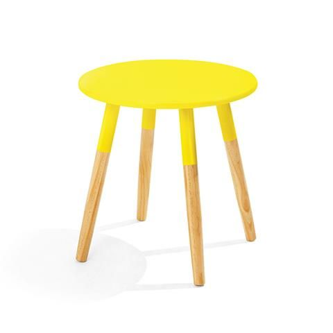 Side Table - 2 Tone Yellow | Kmart