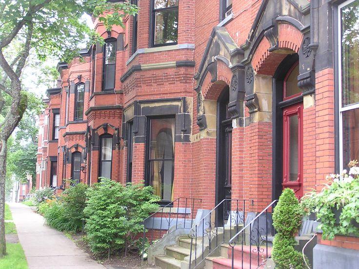 A Street Scape of Saint John, New Brunswick ... Germain.