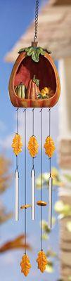 wind chimesAutumn Wind, Fall Wind, Thankswind Chimes, Windchimes Suncatchers, Beautiful Wind, Fall Pumpkins, Awesome Pin, Chimes Awesome, Pumpkin Windchimes