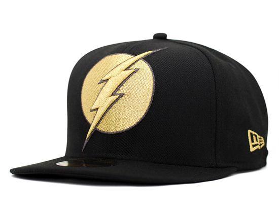 NEW ERA x DC COMICS 「Flash Gordon Big Metallic」59Fifty Fitted Baseball Cap