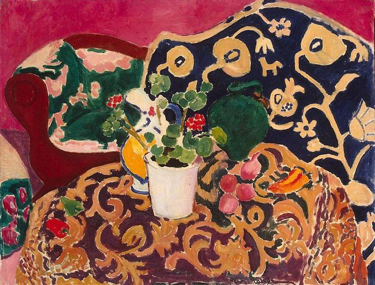Henri Matisse   ESPAGNOL NATURE MORTE (Spanish Still Life) 1910-11 o/c Hermitage Museum, St. Petersburg FAUVE