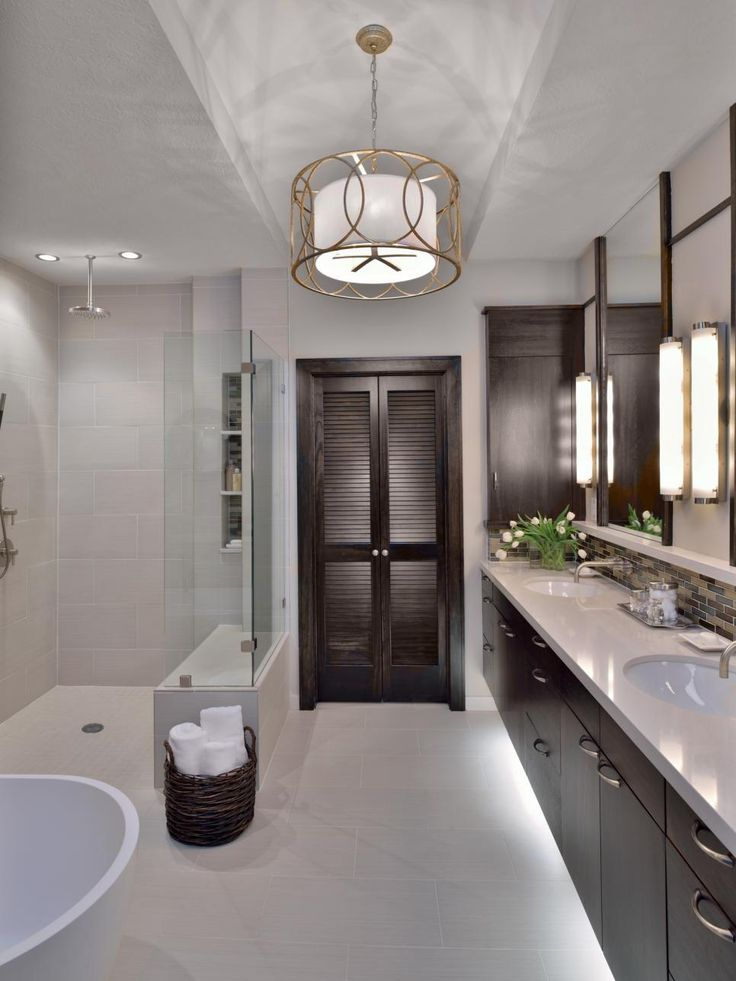 Modern Master Bathroom Ideas Red And Black: 86 Best Masterful Bathrooms Images On Pinterest