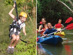 Princeville Ranch Jungle Valley Adventure with Kayaking and Zipline, Kauai tours & activities, fun things to do in Kauai | HawaiiActivities.com