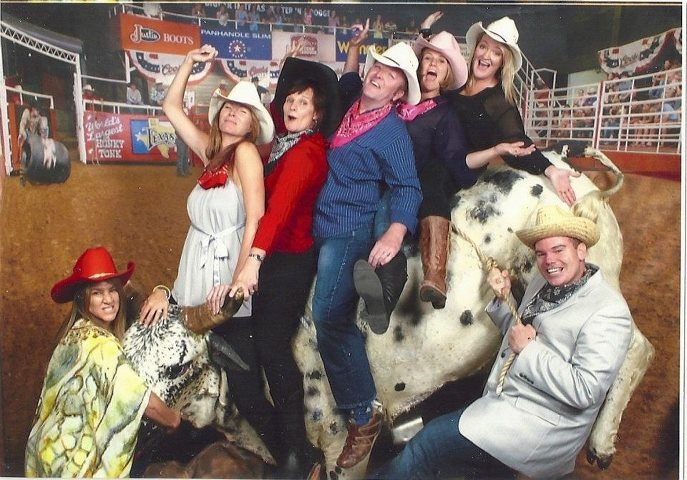 Having some fun on the last night of the International Mannatech Convention - Fort Worth, Texas April 2012