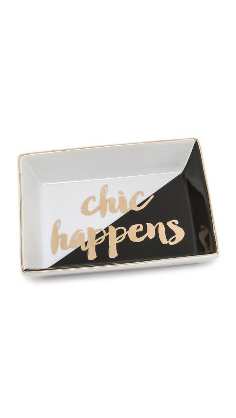Chic Happens Tray, $20; shopbop.com