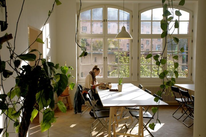 Agora — co-working place in Berlin