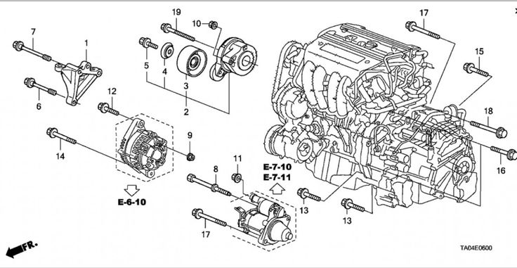 7 Honda Accord V7 Engine Diagram Di 2020