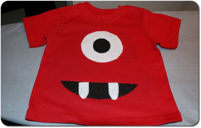 Sewing project: Monster t-shirt