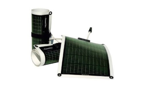 Powerfilm rollable solar chargers.