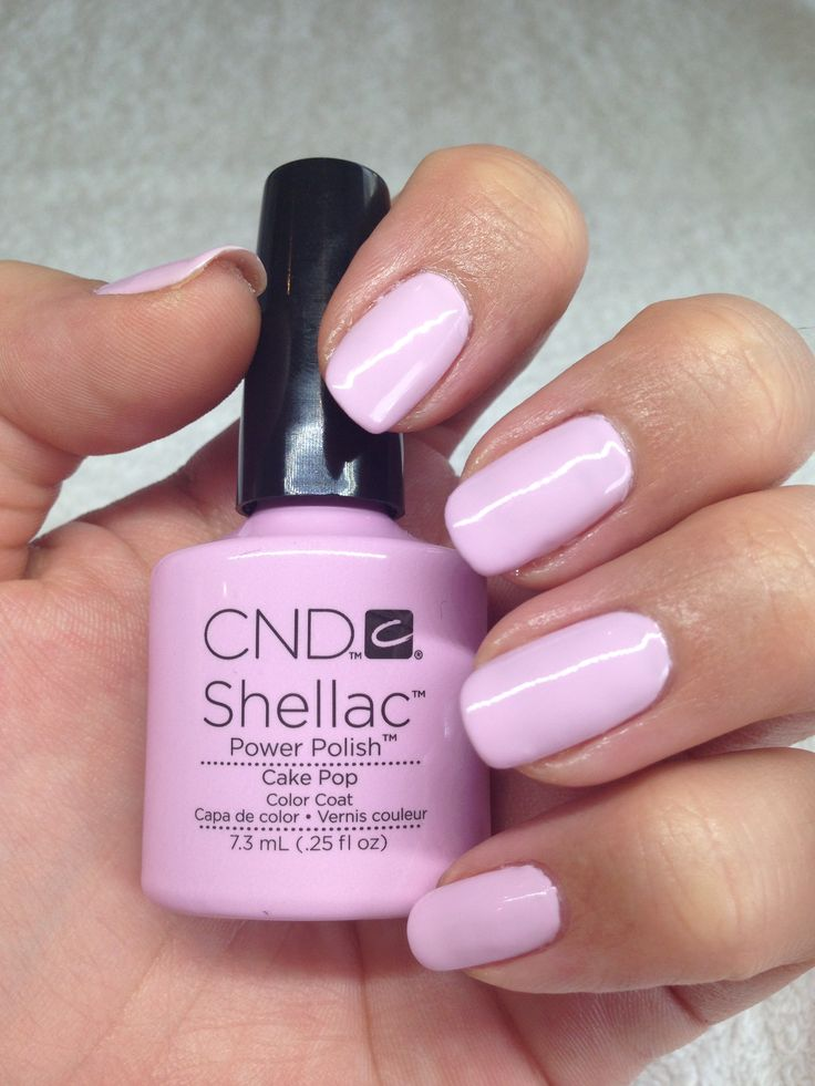 Shellac Manicure Claramay Beauty One Of Our Faves Cake Pop Colour Shellac Manicure Nail
