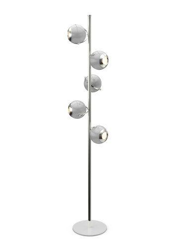INSPIRING WHITE MODERN FLOOR LAMP DESIGNS_See more inspiring articles at: www.delightfull.eu/en/inspirations/